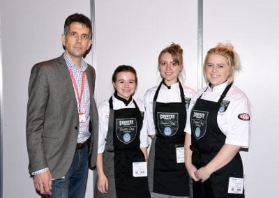 City College Norwich team with their lecturer Bob Oberhoffer