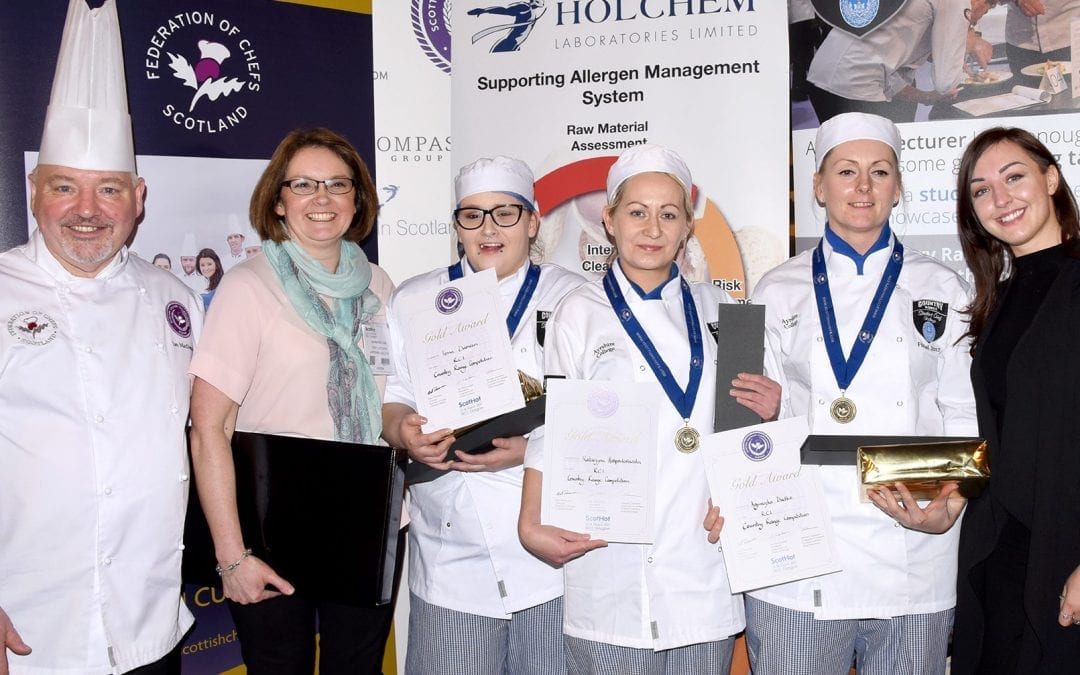 Ayrshire College Crowned Country Range Student Chef Challenge Champions 2017