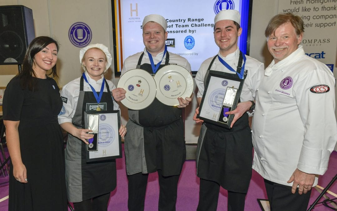City of Glasgow College Crowned Country Range Student Chef Challenge Winners