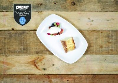City of Liverpool College Dessert - New York Vanilla Cheesecake