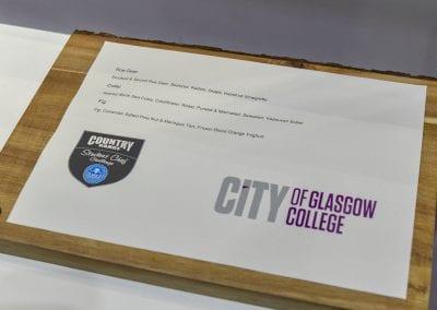 Glasgow Menu