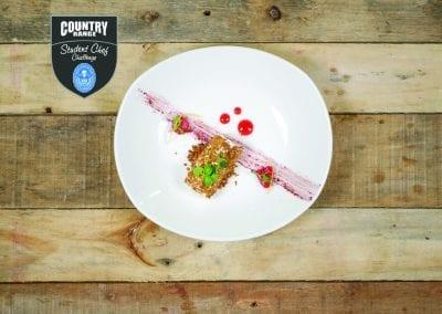 Gloucester College Dessert - DECONSTRUCTED CHEESECAKE