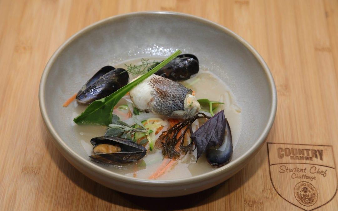 Steamed Asian Sea Bass