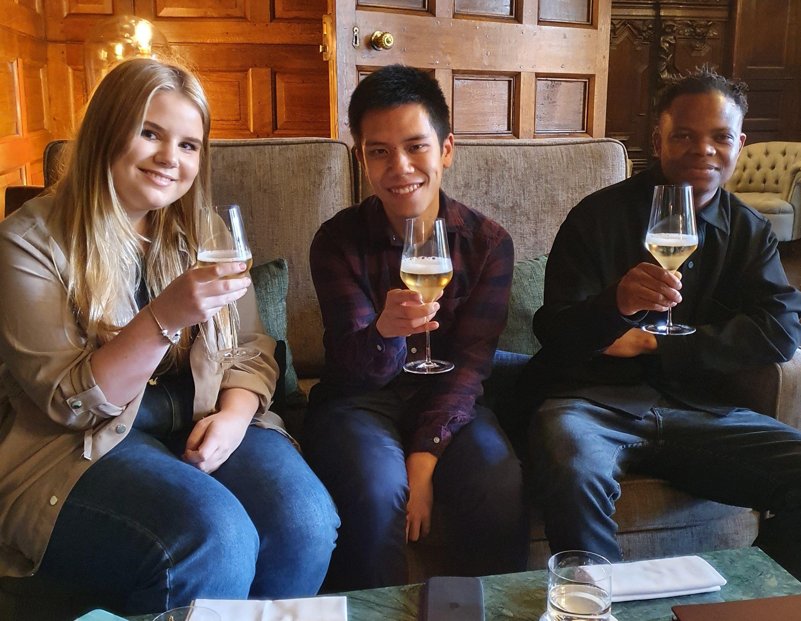 Student Chef Champions Visit Moor Hall